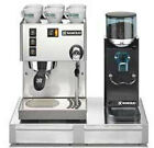 Espresso Machine Maker Rancilio Silvia M  Rocky doserless Grinder with Base