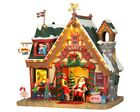 NEW LEMAX VILLAGE COLLECTION Santa's Cabin #35554
