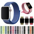 Nylon Sport Loop iWatch Wrist Band for Apple Watch Series 5/4/3/2 38/42/40/44mm