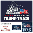 3x5 Ft Trump 2020 All Board the Trump Train President Donald MAGA Flag US Train