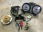 02 Ducati Monster S4 Ignition, Lock Set, ECU, Instrument Cluster, Red Key