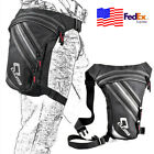 Black Hip Bag Sport Pack Waist Thigh Leg Bag For Motorcycle Cycling Waterproof