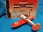 Texaco Vintage Airplane Bank 1/32 Scale Number 13 Travel Air Mystery ShIp