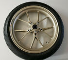 09 10 DUCATI MONSTER 1100 1100S FRONT WHEEL RIM TIRE MARCHESINI BREMBO 120/70-17