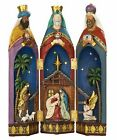 Nativity Scene Set Folding Three Kings Tabletop Christmas Decoration