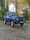 LARGER PHOTOS: land rover defender td5 90 Truck Cab