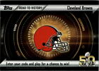 2015 Topps Football Road to Victory Promo Redemption Details 13