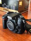 Nikon D7000 16.2 MP Digital SLR Camera - Black (LIKE NEW)