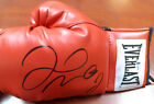 FLOYD MAYWEATHER JR. AUTOGRAPHED RED EVERLAST BOXING GLOVE LH BECKETT 121799