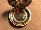 Vintage E Howard Watch Company Pocket Watch Hinged Movement 19 jewels
