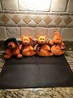 Ty Beanie Babies Set Of 4: Haunt, Haunts, Shivers X2 W/Tags Retired