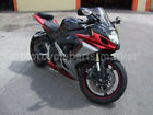 Candy Red w/ Black Grey Fairing Bodywork for 2006-2007 Suzuki GSXR GSX-R 600 750