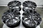 18x8 Black Wheels Fits Kia Forte Optima Stinger Soul Soul Sentry Rsx Civic Rims