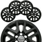 4 BLACK fit 2014 2020 Nissan Frontier 16 Wheel Skins Hub Caps Alloy Rim Covers