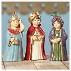 Set 3 Bethany Lowe Wise Men Nativity Scene Christmas Retro Vntg Figurine Decor