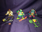 1990 TMNT Heroes Group Disguised Turtles Don Mike Leo Undercover Surfer Samurai