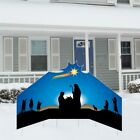 Christmas Nativity Large Star Lawn Sign Display Decoration FREE SHIPPING