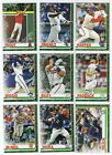 2019 Topps Holiday METALLIC PARALLEL Singles Complete Your Set You Pick
