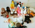 17 TY Beanie Baby Lot Bluebeary Stretch Doby Mystic Flamingo Spider Ducks Moose