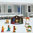 Nativity Scene 8 Piece Yard Card Set FREE SHIPPING
