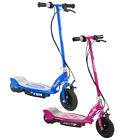 Razor E100 Kids 24 Volt Electric Powered Ride On Scooter Blue  Pink 2 Pack