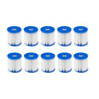 10Pcs For Bestway Replacement Filter Cartridge Swimming Pool Pump Easy Set n