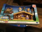 Fisher Price Little People Christmas Nativity Manger Baby Jesus Mary 1 5 Yrs