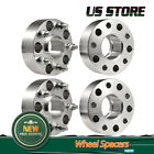 4Pcs 2 Hubcentric Wheel Spacers 5x5 For Jeep JK Wrangler Grand Cherokee 36L V6