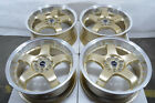 17 Gold Wheels Fits Mazda 3 5 6 Miata Mazdaspeed3 Mazdaspeed6 Mx5 Rims