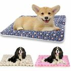 Self Warming Pet Bed Cushion Pad Dog Cat Cage Kennel Crate Soft Cozy Mat S M LXL