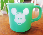 Fire King OVEN PROOF Mickey Mouse Mug cup WALT DISNEY PRODUCTIONS vintage rare