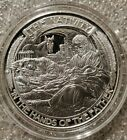 The nativity 1 oz 999 silver Hands of the Father receive christ jesus the king