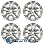 New 16 Replacement Wheels Rims for Toyota Scion Yaris IA 2016 2019 Set Silver