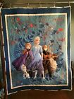 Homemade Disney Frozen Quilt New Lap Wall Lap 35 by 44