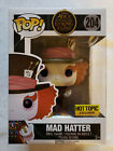 FUNKO POP! ALICE THROUGH THE LOOKING GLASS HOT TOPIC EXCLUSIVE MAD HATTER #204