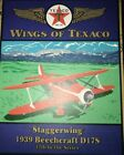 Texaco Wings of Texaco 1939 Beechcraft D17S Staggerwing12th in series Plane