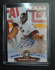 2010 Upper Deck World of Sports Marc-Andre Fleury SP autograph Team Canada