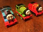 Thomas and Friends Pull Back Trains Thomas Percy James 3pc Lot Toy Mattel 2009