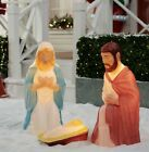 Lighted Nativity Outdoor Set 3 piece