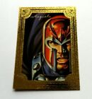MAGNETO GOLD GALLERY - 1996 Marvel Masterpieces 3 of 6 Chase Card - RARE
