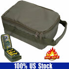 Portable Outdoor Fishing Reel Storage Bag Case Fly Tackle Gear Lure Organizer US