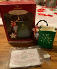 Hallmark Keepsake Christmas Chris Mouse Luminaria ornament 1997 New Old Stock