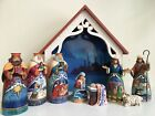 Jim Shore Deluxe Away in a Manger Mini Nativity Set 9