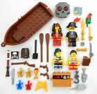NEW LEGO PIRATE CAPTAIN & FAMILY MINIFIG LOT treasure minifigure figures boat