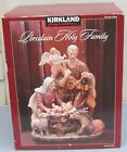 KIRKLAND Porcelain HOLY FAMILY Christmas Nativity NEW IN BOX