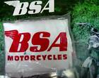BSA Motorcycle Mens XL 46-48 Red on White Beefy Hanes T-Shirt NOS, 100% cotton.