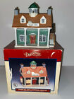 Vintage 1993 LEMAX Dickensvale Porcelain Lighted House Town Hall Snow Village