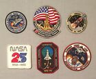 NASA PATCH LOT 6 Space Program  Shuttle STS Mission 25th Anniversary +++ 261