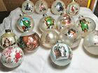 18 Norman Rockwell Christmas Hallmark Ornaments oldest one1979  80s 90s 2000s