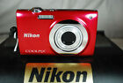 Nikon COOLPIX S2500 12MP Compact Digital Camera - Choice of Colours - Exc Cond.